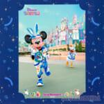 """東京ディズニーランド""""ディズニー・イースター2021""""スナップフォト ミッキーマウス"""