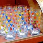 東京ディズニーランド「ミッキーマーク」グラス