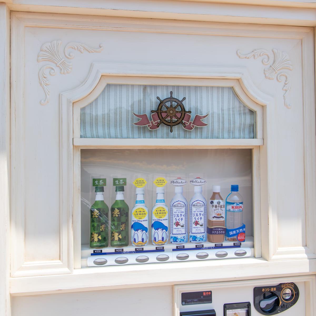東京ディズニーランド/ウエスタンランド自動販売機(蒸気船マークトウェイン号前) ペットボトル飲料