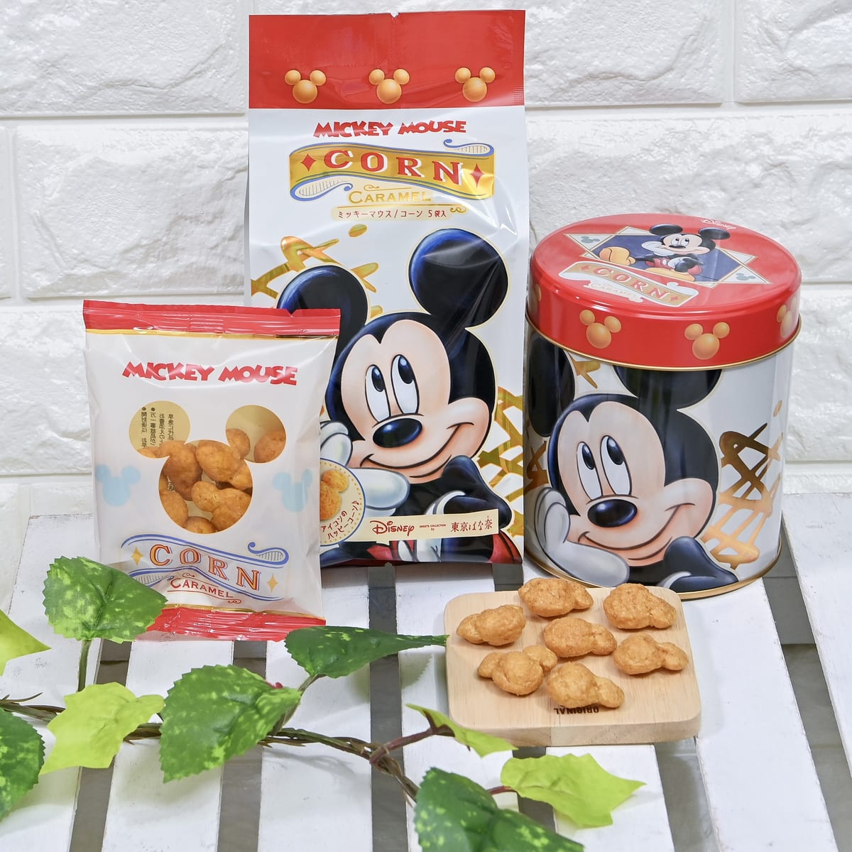 Disney SWEETS COLLECTION by 東京ばな奈「ミッキーマウス/コーン キャラメル味」