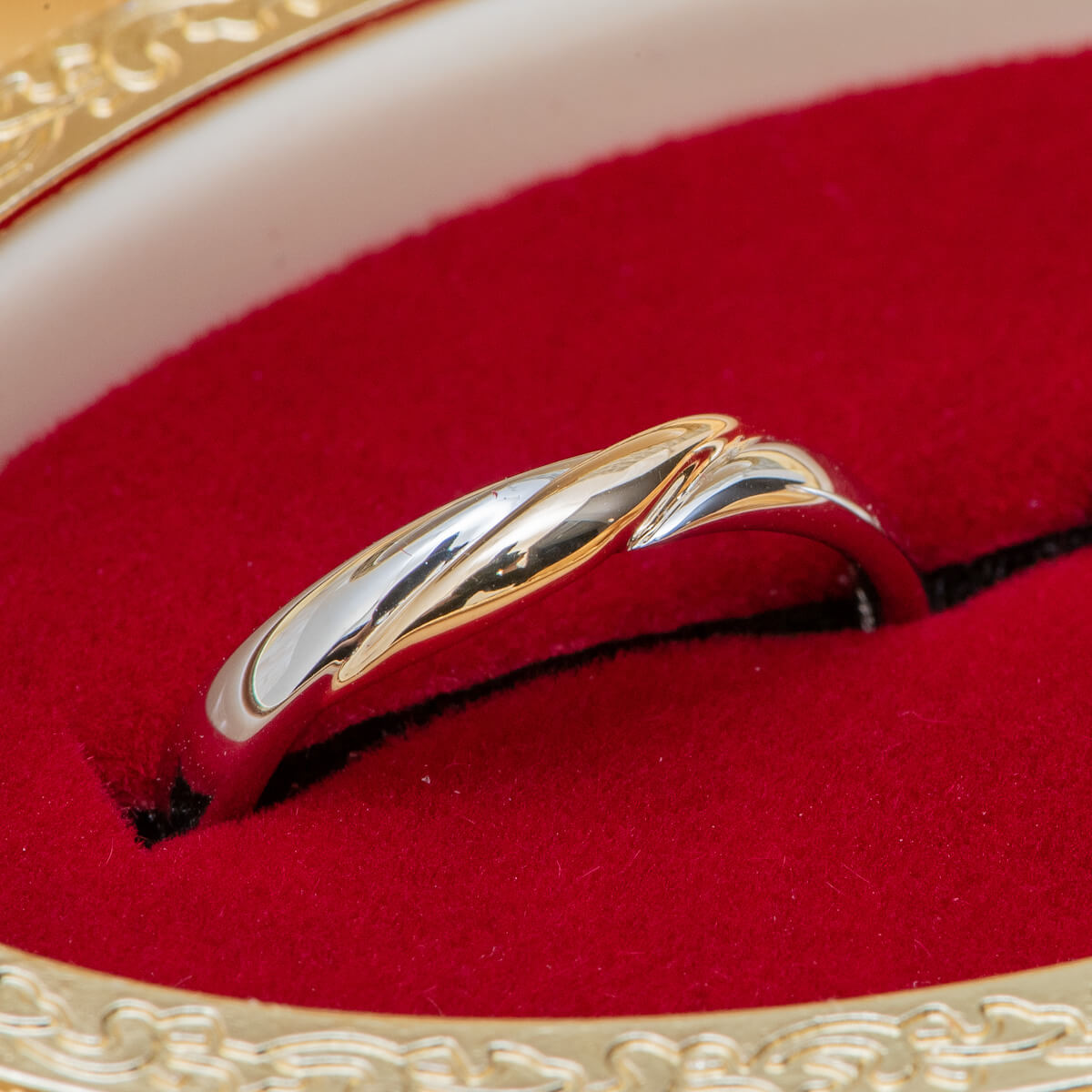 BYM6330/Wide  Marriage Ring