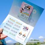 ディズニーリゾートライン開業20周年フリーきっぷ 台紙付き