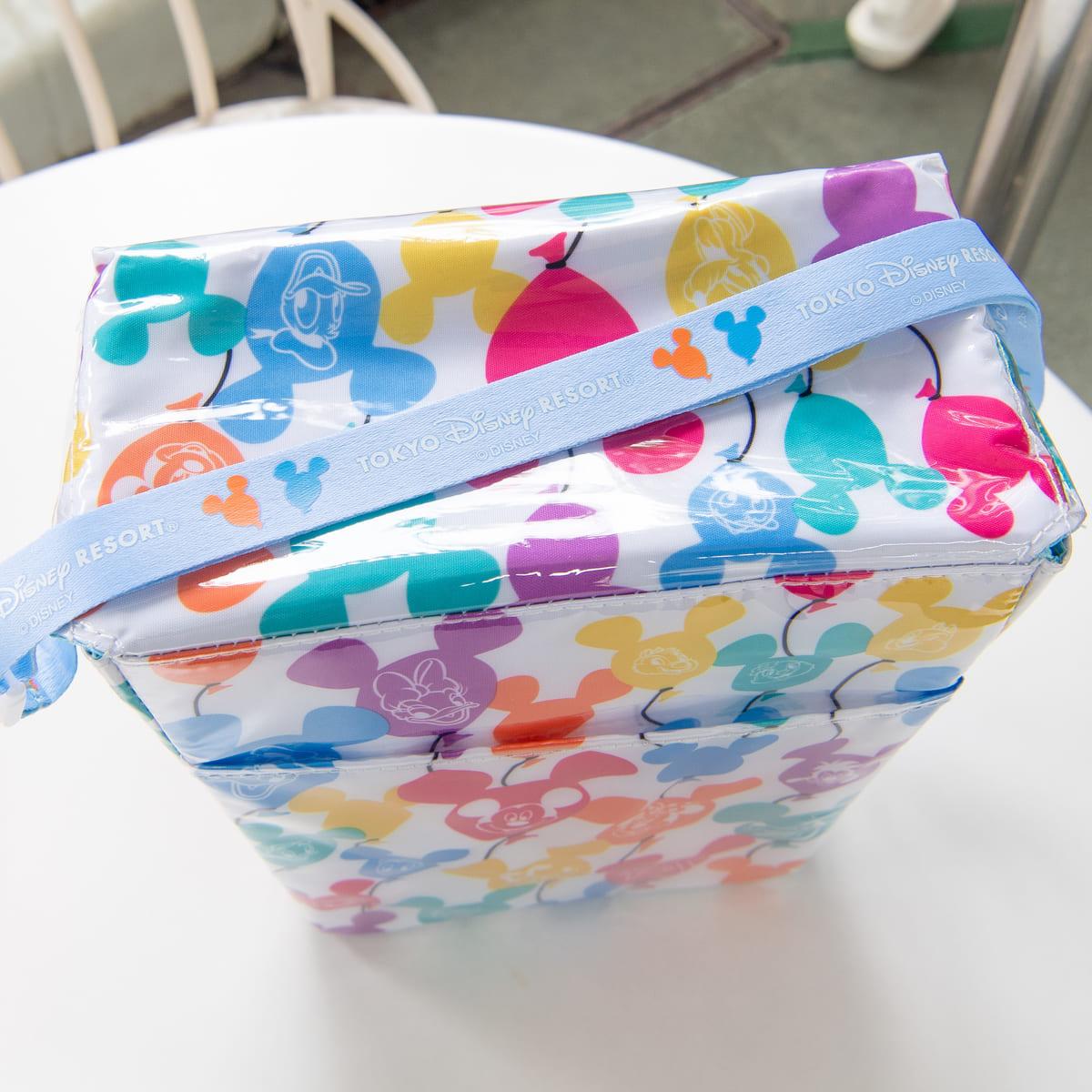 東京ディズニーリゾート「レギュラーボックス、スーベニアポップコーンケース付き」(ミッキーバルーン柄) ストラップ