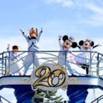 """東京ディズニーシー20周年「ミッキー&フレンズのハーバーグリーティング""""タイム・トゥ・シャイン!""""」ザンビーニ・ブラザーズ・リストランテ前1"""