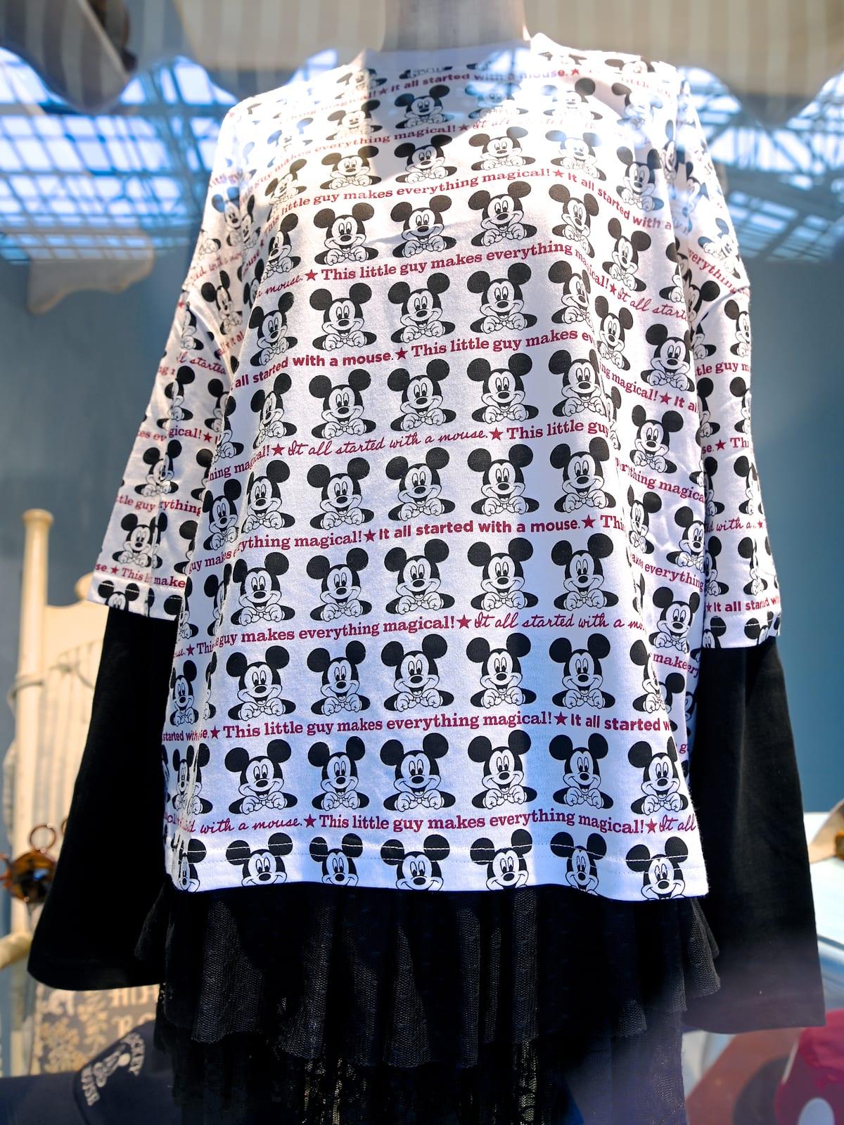 東京ディズニーランド「ミッキーマウス」長袖Tシャツ