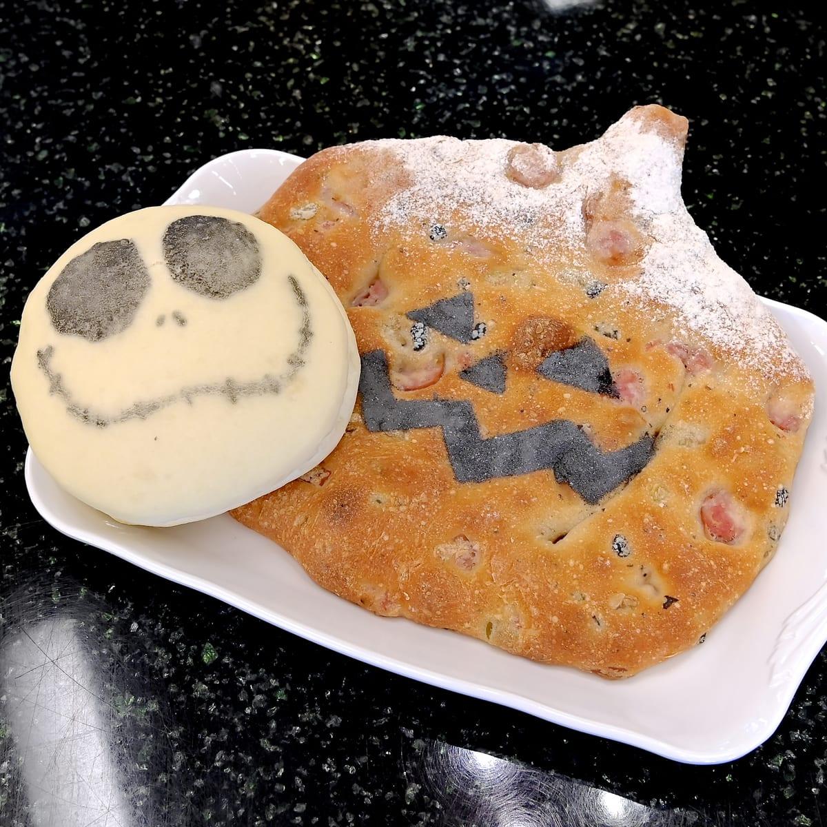 ディズニー・ハロウィーン2021キャラクター・季節のパン