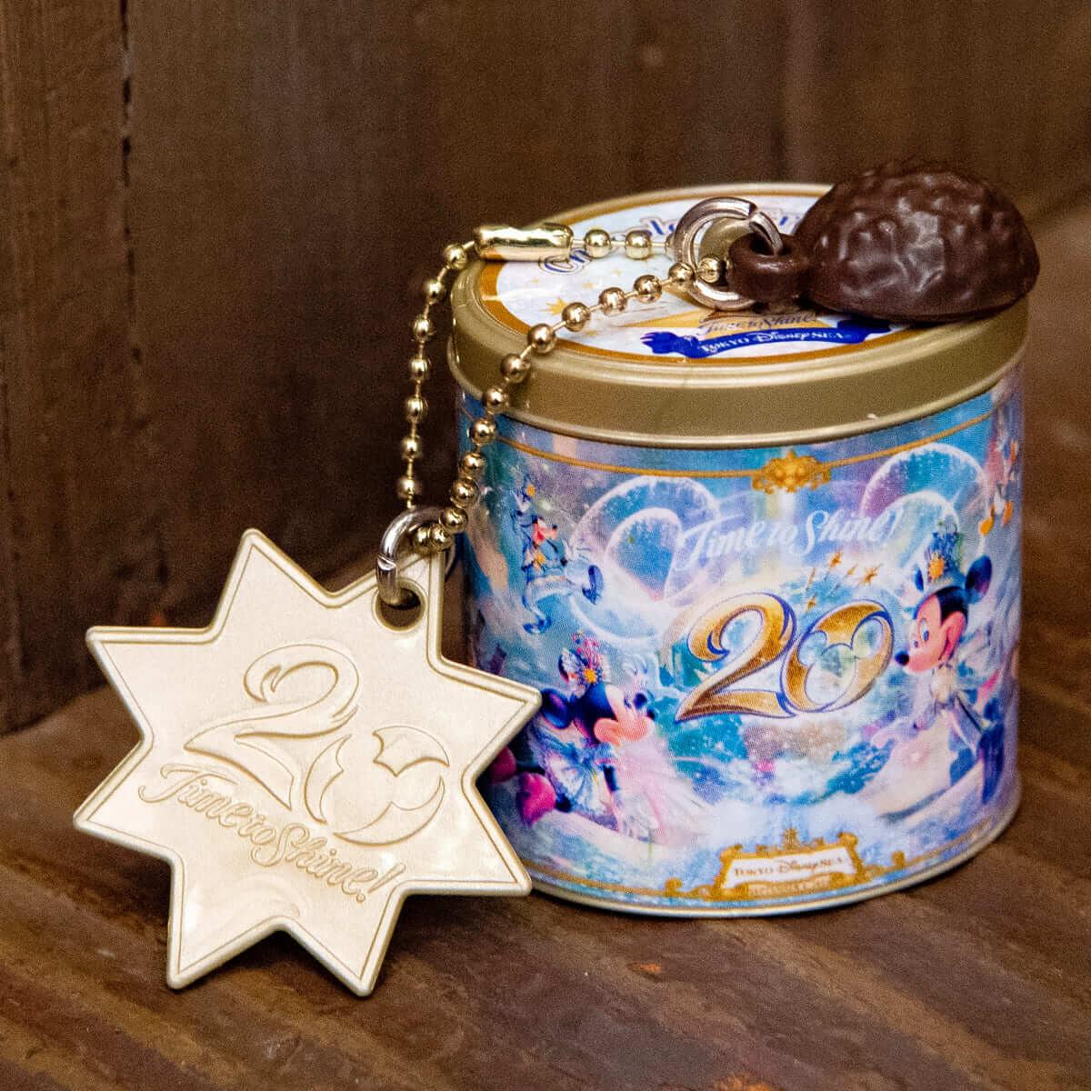 東京ディズニーシー20周年:タイム・トゥ・シャイン!カプセルトイ チョコレートクランチ