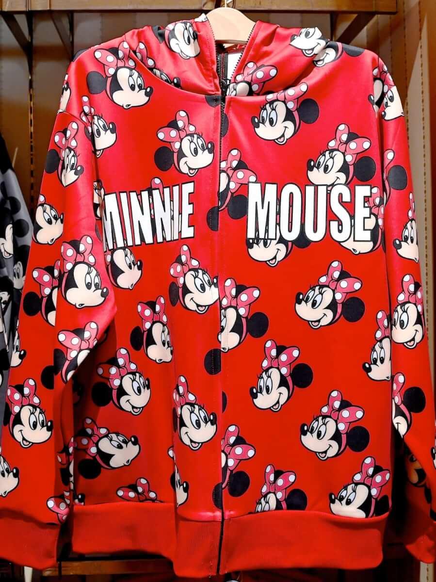 ミニーマウスパーカー