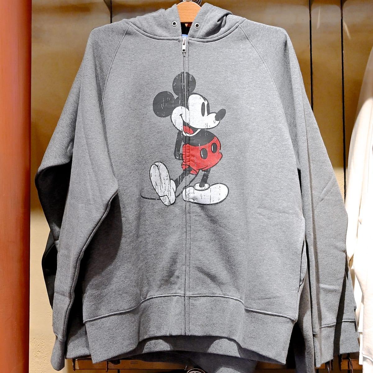 ミッキーマウスパーカー(グレー)